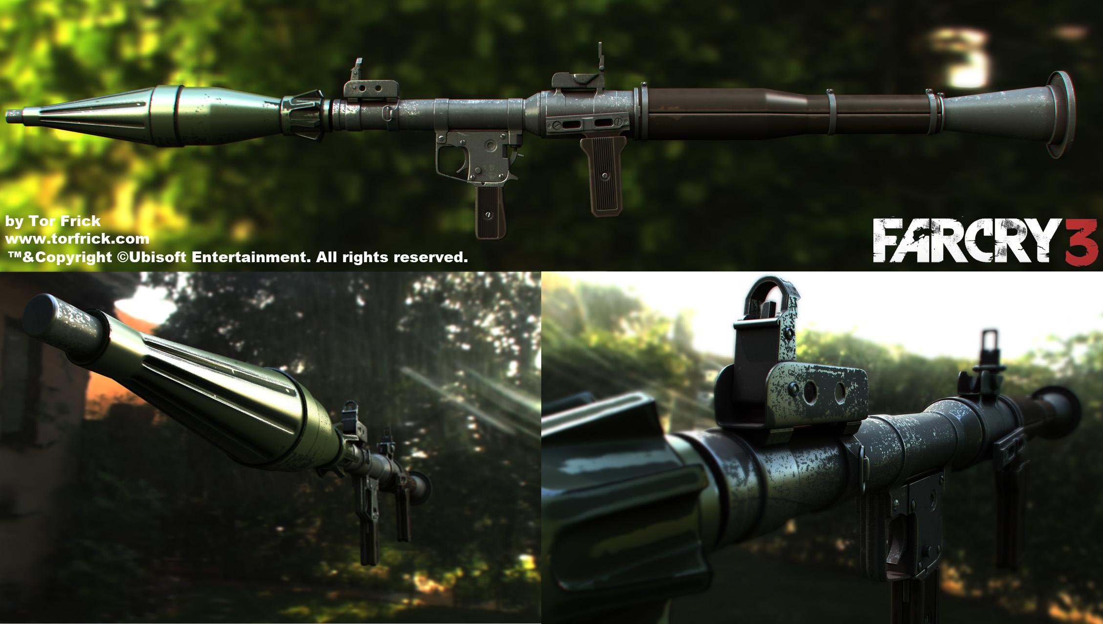 Tor Snefer Frick S Art Far Cry 3 Guns